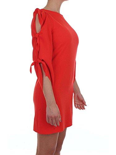 Abito Donna PINKO PALAZZOLO Corto Primavera Estate 2017, red, 42
