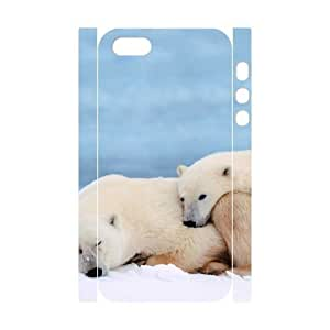 EZCASE Polar Bear Phone Case For iPhone 5,5S [Pattern-4]