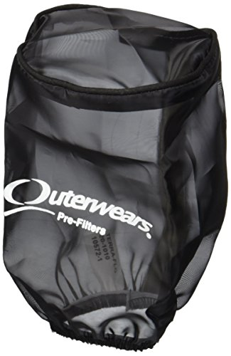 Outerwears 20-1010-01 WATER REPELLENT PRE-FILTERS Black