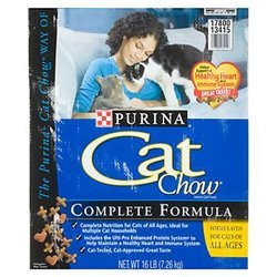 Cat Chow Cat Food Dry 18 Lbs.