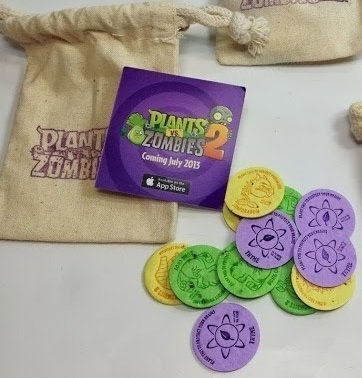 Plants Vs. Zombie 2: Exclusive E3 2013 Seed Coin Bag
