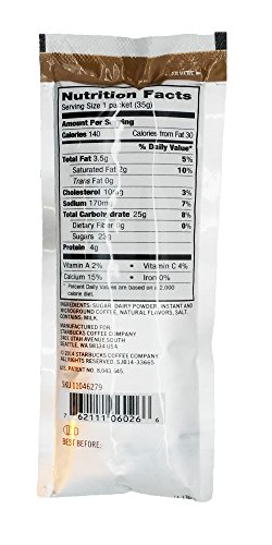 Pack of 17 - Starbucks VIA Instant White Chocolate Mocha Latte, 1.23 oz. (Packaging may vary)