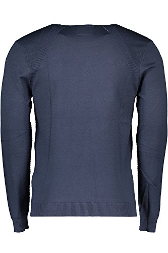Hombre para Azul GUESS Térmica Camiseta G720 RAaAwEtx