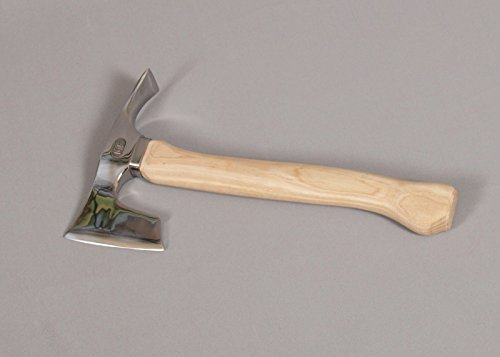 Stainless Steel Elegant Small Bearded Hatchet / Axe Combined with Adze Blade by mapsyst (Image #5)