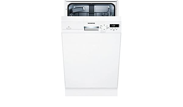 Siemens iQ100 SR315W03CE lavavajilla Semi-incorporado 9 cubiertos ...
