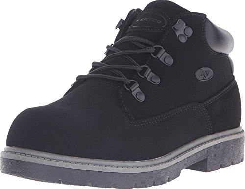 Lugz Men's Cargo Fashion Sneaker, Black Buck, 7.5 D
