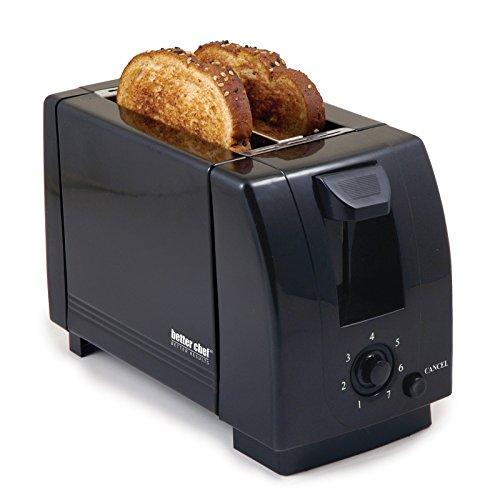 2 Slice Toaster Color: Black