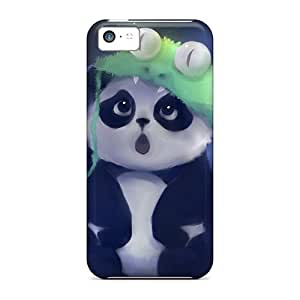 New Style LisaMichelle Hard Case Cover For Iphone 5c- Cute Panda Painting