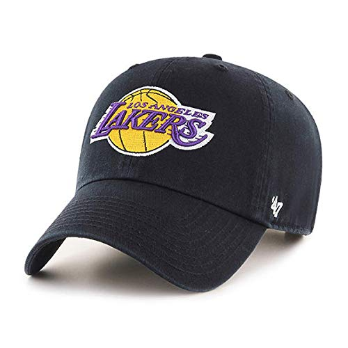 Twins Details About Los Angeles LA Lakers DADHAT 47 Brand Cap Clean UP DAD HAT Black