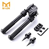 Sawke Mlok Bipod for Rifles - 6.5-9 Inch Tactical Rifle Bipod...
