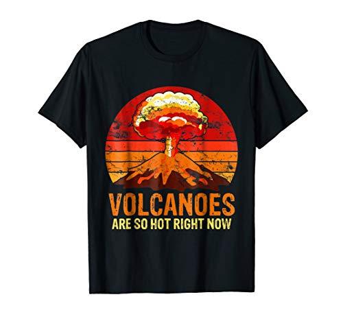 Volcano Pun Volcanoes Are So Hot Hawaiian Volcanoes T Shirt