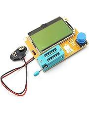 LCR-T4 LCD Digital Transistor Tester Medidor Retroiluminación Diodo Triodo Capacitancia Medidor ESR Para MOSFET/JFET/PNP/NPN L/C/R 1 - Blanco