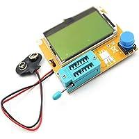 LCR-T4 LCD Digital Transistor Tester Medidor Retroiluminación Diodo