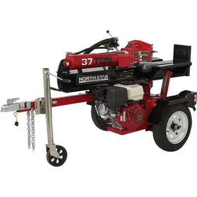 NorthStar Deluxe Horizontal/Vertical Log Splitter - 37-Ton, 389cc Honda GX390 - Log Splitter Northstar Horizontal