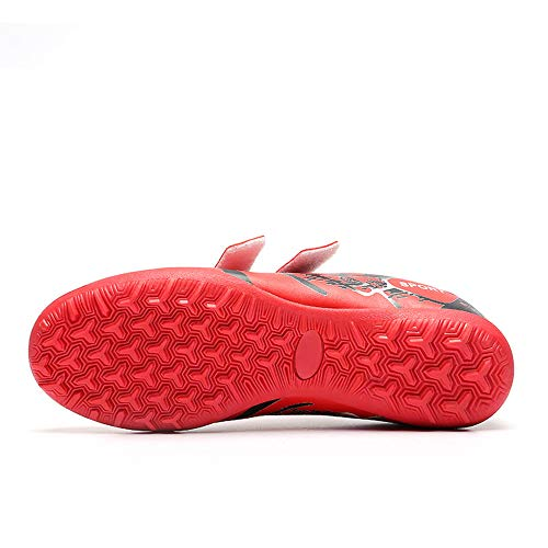 Amazon.com: FCSHOES Indoor Velcro Soccer Shoes Kids Boys ...