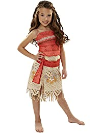 Moana Girls Adventure Outfit , Size 4-6X