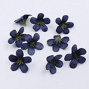 ShineBear 20pcs/lot Spring Silk Orchid Artificial Flower Heads,Gladiolus Cymbidium Flowers for Wedding Decoration - (Color: 9) 78