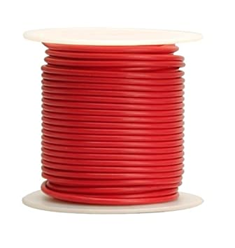 Coleman Cable 16-100-16 Primary Wire, 16-Gauge 100-Feet Bulk Spool ...
