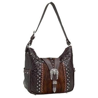 f8915994a229 Amazon.com  American West Zip-top Western Hobo Bag Purse 620 (Many ...