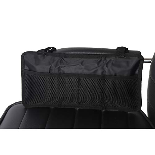 Arm Tote - Fushida Wheelchair Bag - Storage Side Pouch for Wheelchair - Black Walking Tote Bag, for Carrying Loose Items - Accessible Pouch and Pockets, Fits Most Men, Women, Handicap, Elderly