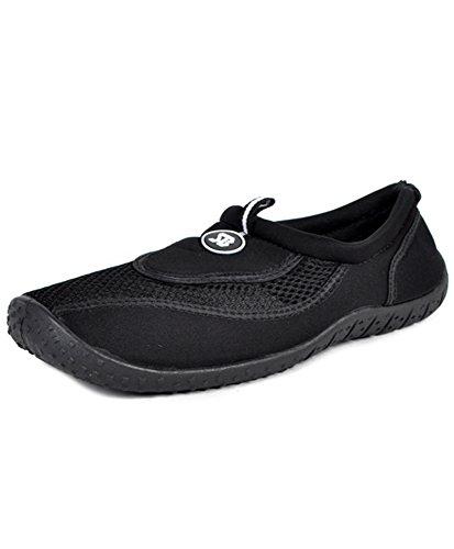 Femmes Aqua Chaussures Noir