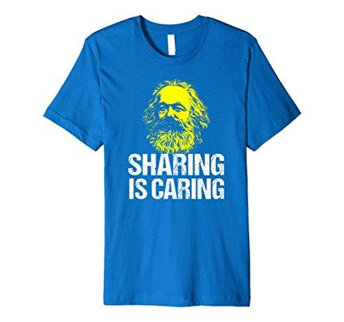 Funny Karl Marx Communist Tshirt Socialist Sharing Gift (Karl Marx Wrote The Communist Manifesto As)