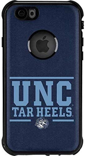 Skinit Waterproof Phone Case Compatible with iPhone 6/6s - Officially Licensed College UNC Tar Heels Design