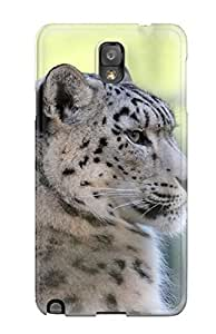 Excellent Galaxy Note 3 Case Tpu Cover Back Skin Protector Snow Leopard