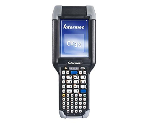 Intermec CK3X Mobile Computer - 2D Imager, Wi-Fi, Bluetooth, WEHH 6.5, 256MB RAM/1GB Flash, Alphanumeric keypad, Includes Battery and ICP application software.