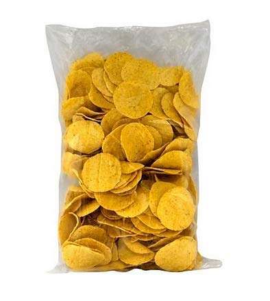 Gold Medal Products El Nacho Grande Bulk Tortilla Chips - 4/24oz bags by...