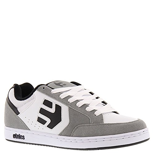 Etnies Swivel, Color: Grey/White, Size: 41.5 Eu / 8.5 Us / 7.5 Uk
