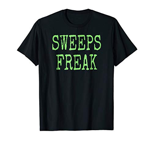 Sweeps Freak- Funny Halloween Sweepstakes T-Shirt -