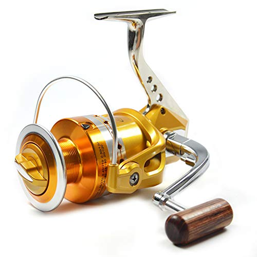 Supertrip Spinning Fishing Reel Front Drag and Rear Drag Spinning Reels for Inshore & Saltwater Pike...