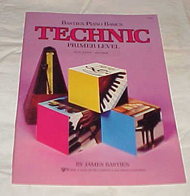 Download Bastien Piano Basics Technic Primery Lever by James