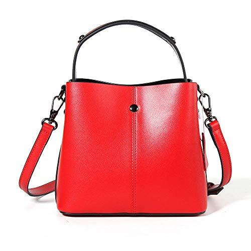 main cuir sac à simple femme Baotan A Sxuefang à de sac bandoulière Seau H4wWEvBqx