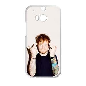 Ed Sheeran HTC One M8 Cell Phone Case White GYK53638
