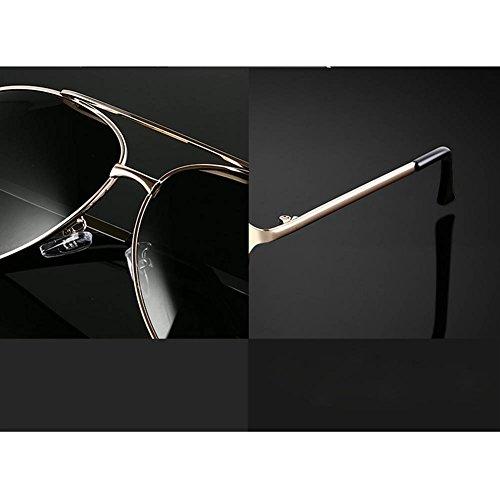 des Boî Soleil Hommes De RPFU La De Grande Miroir Conduisant GoldFrameDarkGreenLens Lunettes Polarisées Mode n0wq7f6qE