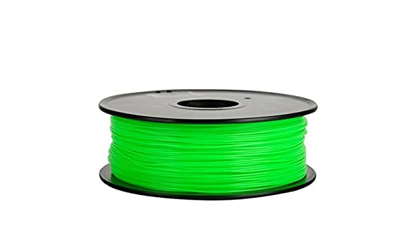 Filamento 3d Flexible (elastómero termoplástico) verde 1.75 mm ...