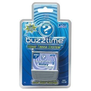 Buzztime History Trivia Cartridge by Buzztime Cadaco