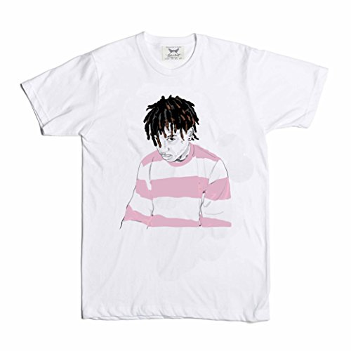 Babes & Gents Ski Mask The slump God White Tee (Unisex) (God Mask)