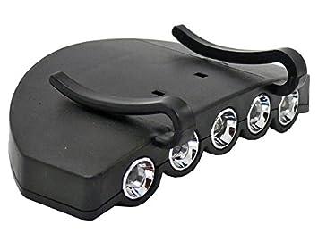 Boyz Toys - Linterna para Visera de Gorra (5 Luces LED): Amazon.es: Deportes y aire libre