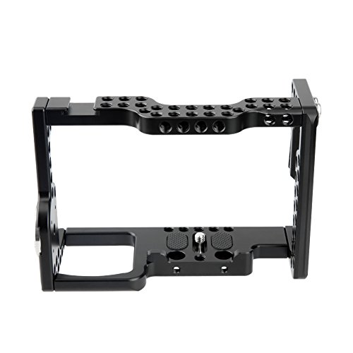 NICEYRIG Camera Cage Kit for Sony A7Riii/ A7iii/ A7Sii/ A7Rii/ A7ii/ A9, with HDMI Cable Lock ARRI Rosette