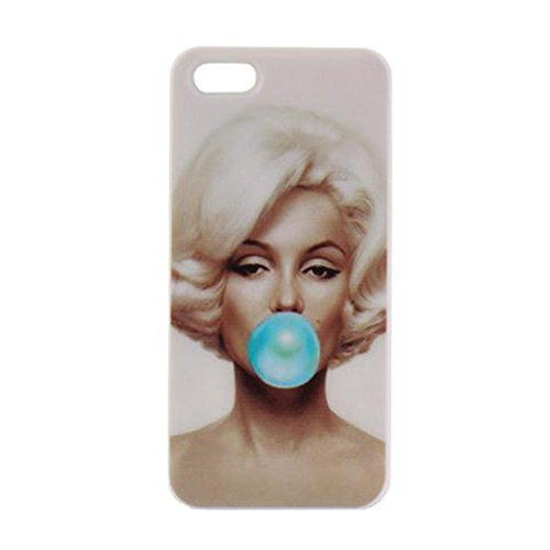 Megacase New Marilyn Monroe Balloon Colored Painted-on Designs Cell Phone Case Cover for iPhone 6 - Mall Monroe