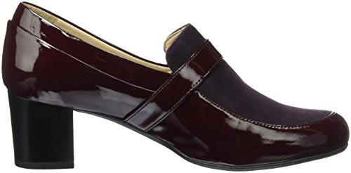 Rouge Marc 00161 Rot Bordo Escarpins Femme Shoes Leona RHOqIH