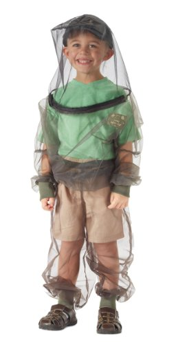 Clothing Mosquito Protective (Bug Baffler Toddler's Insect Protective Mesh Shirt, Olive, Child 4-6)