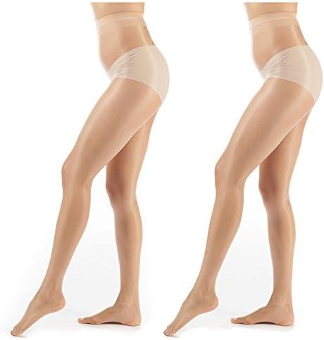 ElsaYX Womens Glossy Pantyhose Hosiery product image