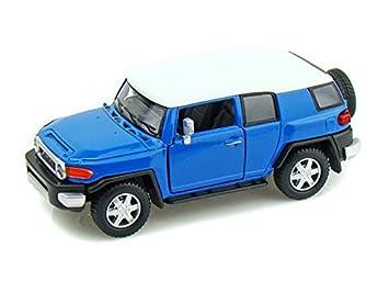 Amazoncom Toyota FJ Cruiser 136 Blue Toys  Games