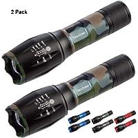 Readaeer Linterna LED , con 5 Modos, un