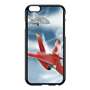 Jet Fighters Black Hard Plastic Case for iPhone 6 Plus by Nick Greenaway + FREE Crystal Clear Screen Protector
