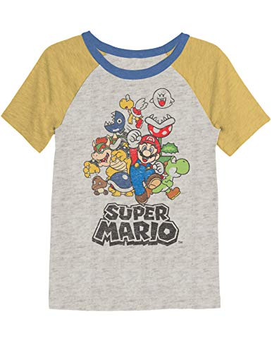 Jumping Beans Boys 4-8 Mario Retro Super Rad Graphic Tee 5 from Jumping Beans